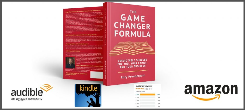 The Game Changer Formula Book on Amazon